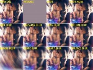 Hiệu ứng Blur trong photoshop