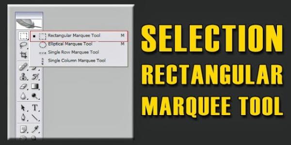 Tìm hiểu về Marquee Tool và vùng chọn trong Photoshop