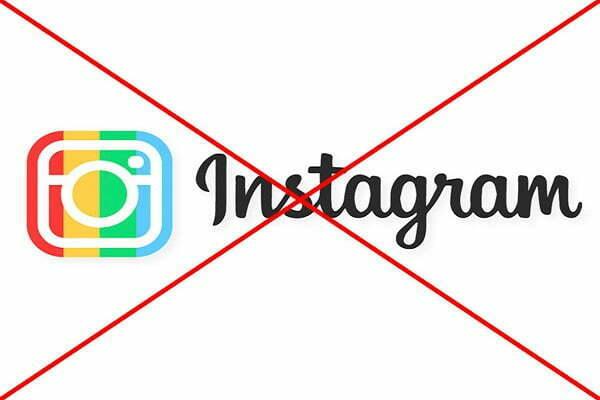 Làm cách nào để xóa tài khoản instagram?