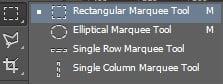 Giới thiệu về Marquee Tool