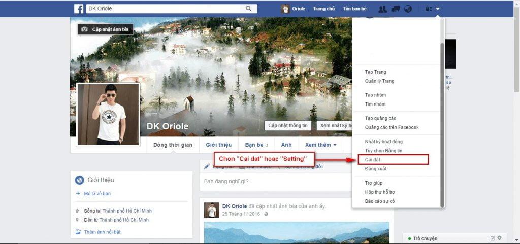 Hướng dẫn đổi tên Facebook khi đã đủ 60 ngày 1