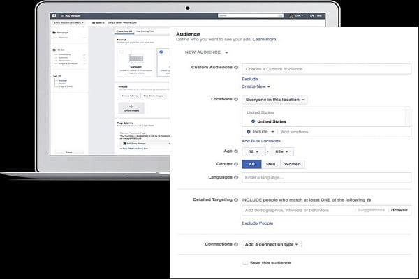 Cách nhắm đối tượng bằng quảng cáo trên facebook