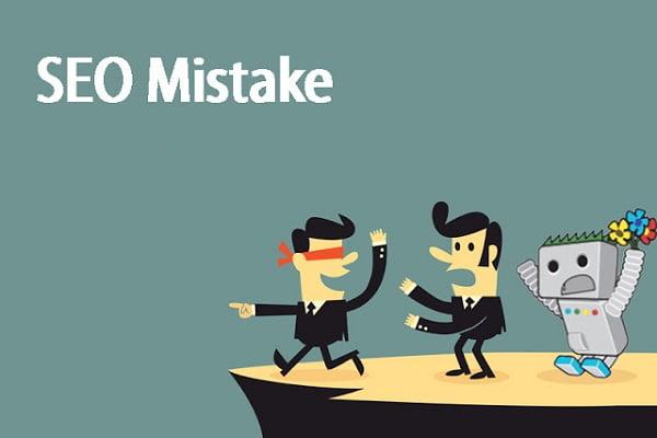 6 sai lầm phổ biến trong SEO