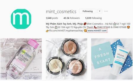 Đặt tên cho Shop trên Instagram