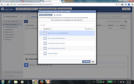 Tải tài khoản quảng cáo trên Facebook