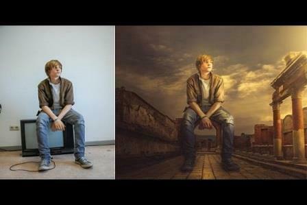 Hướng dẫn thay Background cho hình ảnh trong Photoshop