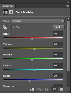 Công cụ Black & White