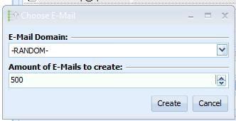 Chose E-mail