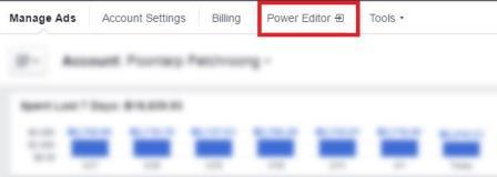 Giao diện Power Editor