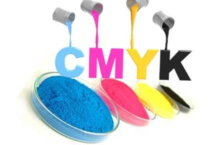 Hệ màu CMYK trong Photoshop