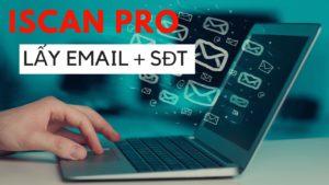Phần mềm tìm kiếm Email số điện thoại miễn phí: IScanPro