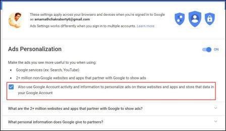 ngăn Google theo dõi bạn