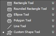 Nhóm Rectangle tool