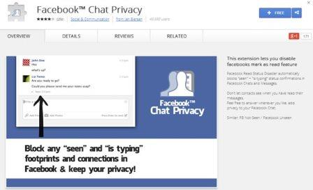 Facebook Chat Privacy