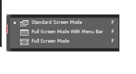 3 chế độ hiển thị (Screen mode)