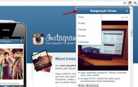 Quản lý nhiều TK Instagram cùng lúc hơn với Instagram cho Chrom