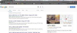 Sự khác biệt của thống trị và top 3 tìm kiếm Google