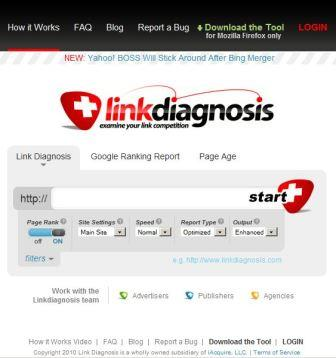 LinkDiagnosis Firefox Extension