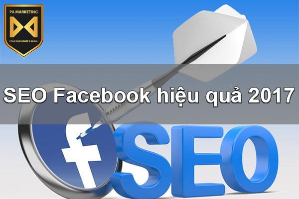 SEO Facebook hiệu quả 2017