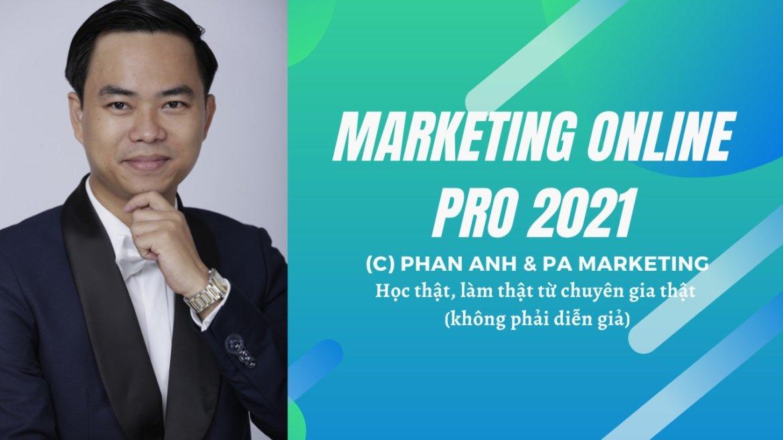 khóa học Facebook Marketing 2021