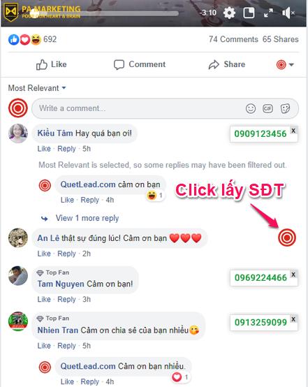 Cong cu ho tro quang cao QuetLead.com