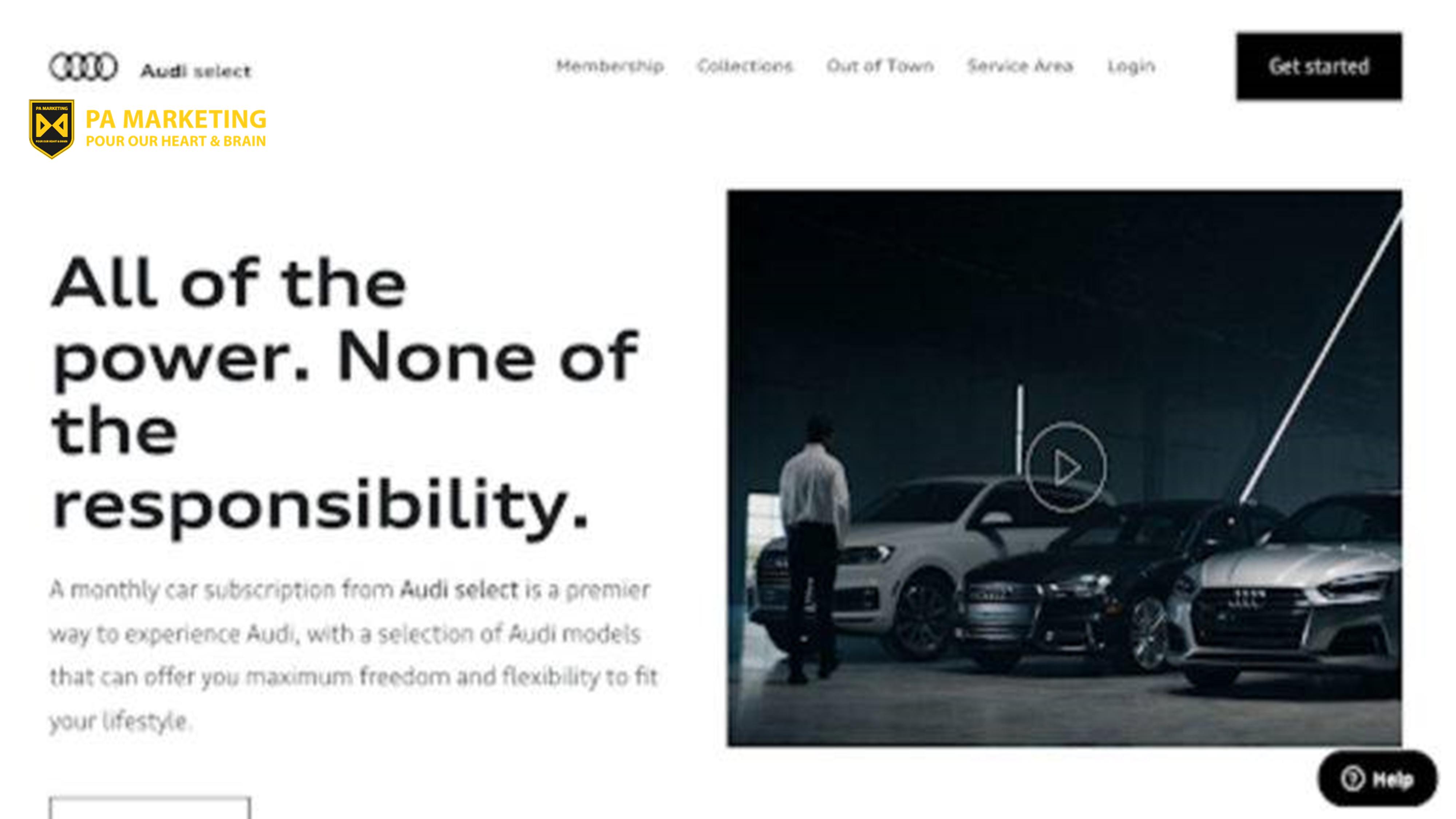 Audi chuyển sang mô hình kinh doanh thuê bao