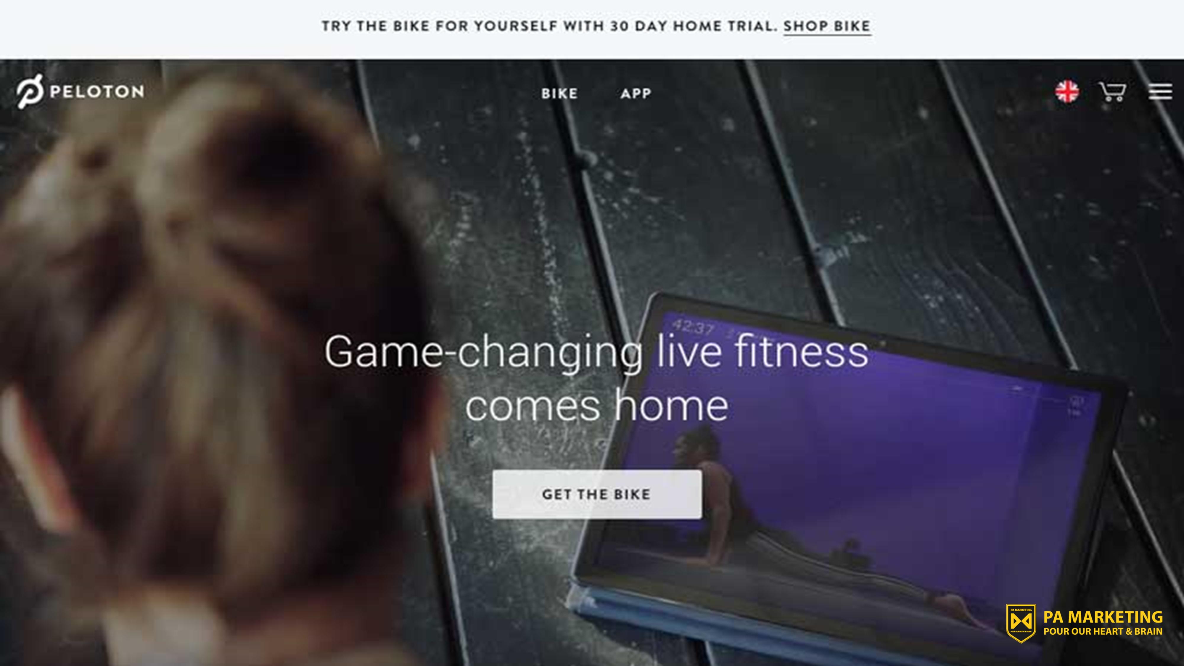 Mô hình kinh doanh đăng ký Peloton để tập thể dục tại nhà