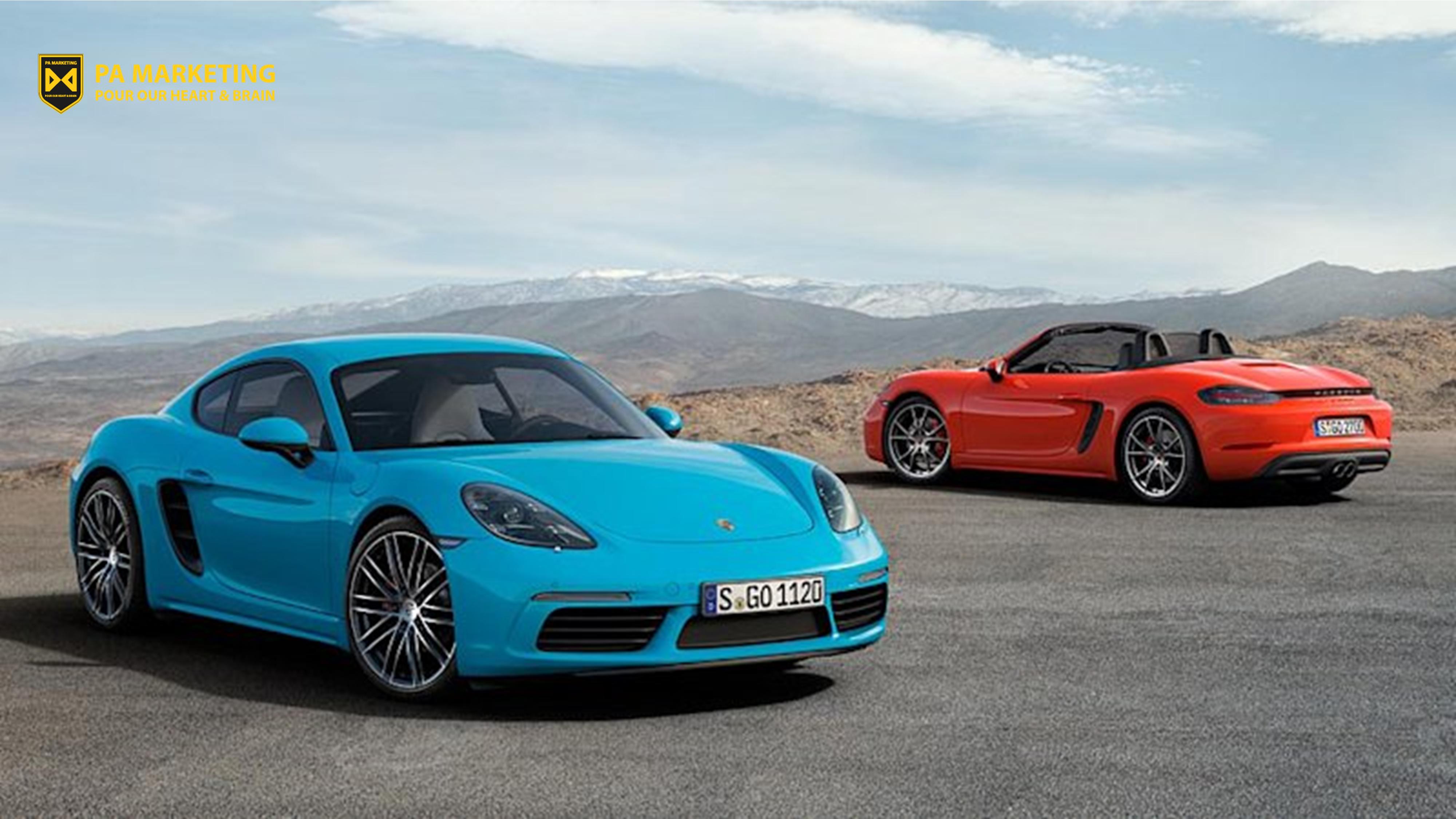 Mô hình doanh thu đăng ký 2 tầng của Porsche - Khởi động và Tăng tốc.