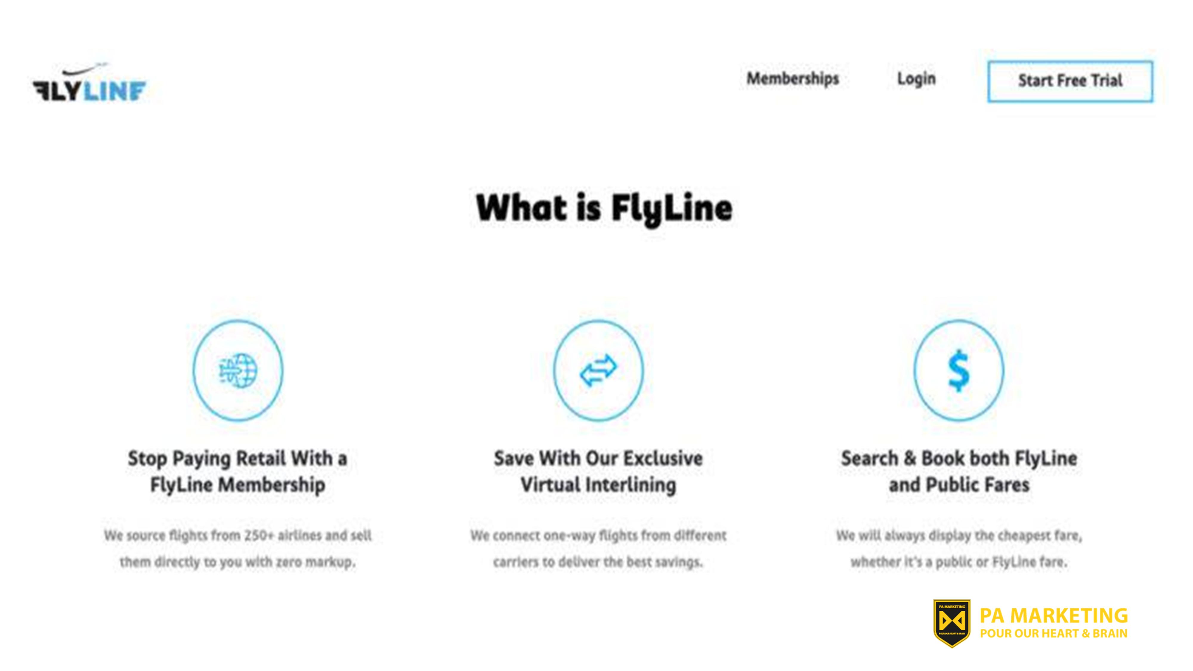Mô hình kinh doanh đăng ký Flyline