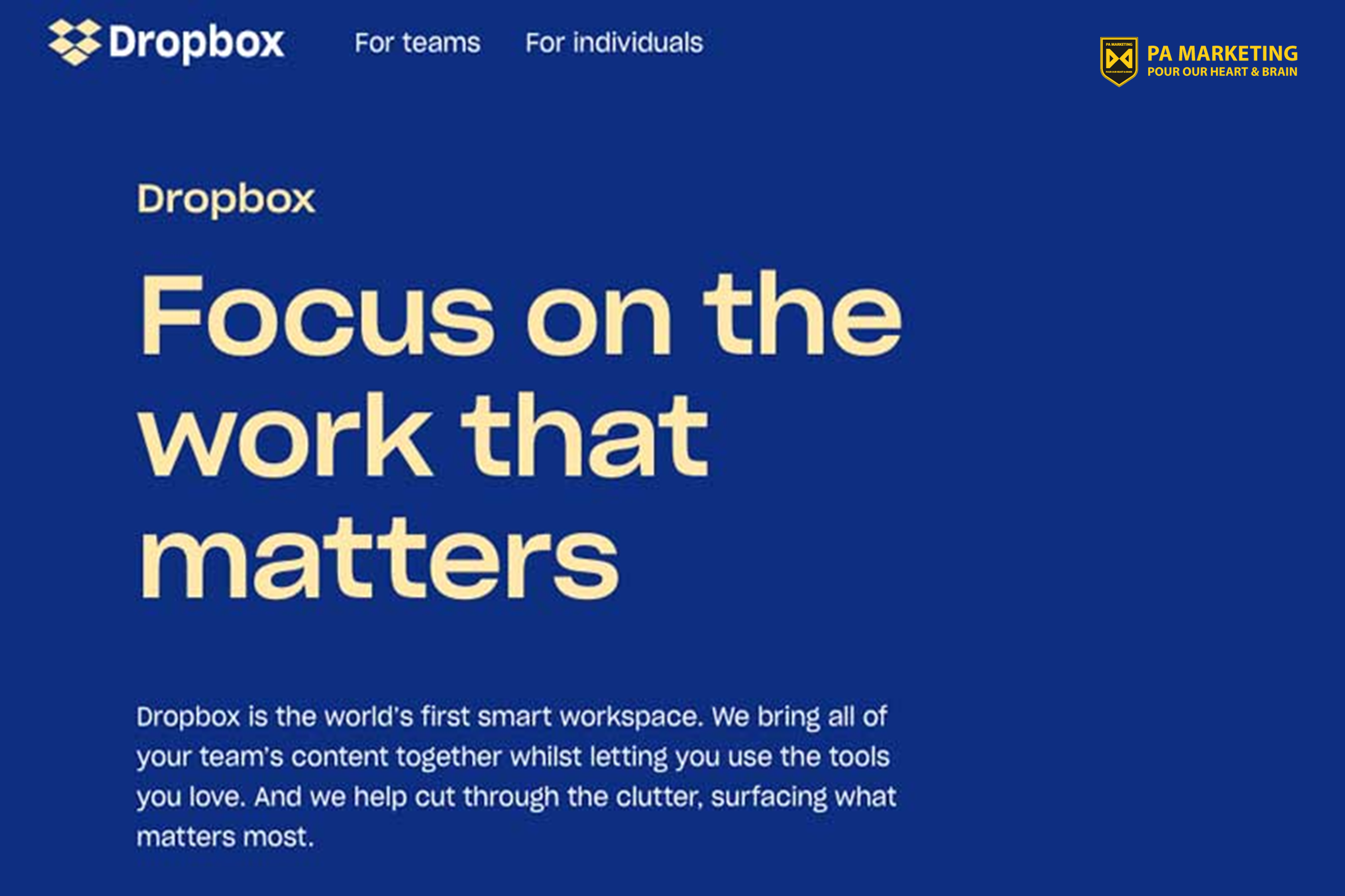 Dropbox - một ví dụ về mô hình kinh doanh freemium