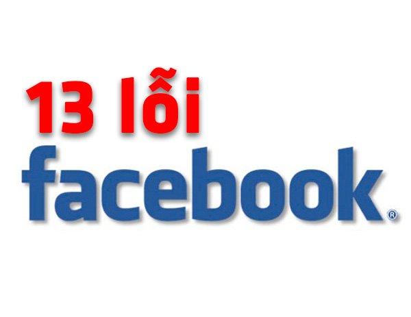 13 lỗi thường gặp khi không được duyệt quảng cáo Facebook.