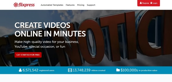 3 website tạo video intro & animation