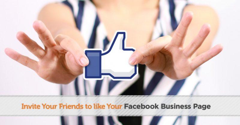 Tăng like Fanpage Facebook bằng cách mời bạn bè like Fanpage