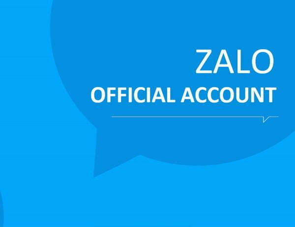 Cách đăng ký zalo official account