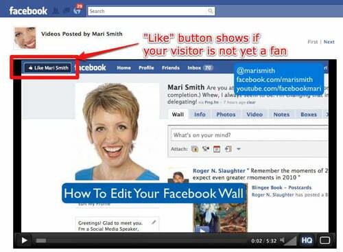 Đăng tải video lên fanpage và nhúng vào website của bạn.