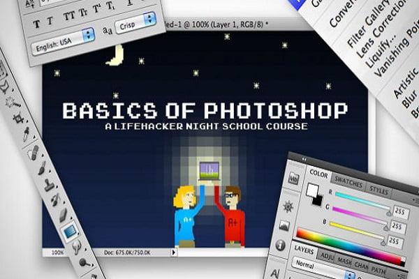 6 kinh nghiệm học Photoshop cho người mới bắt đầu