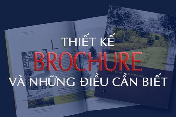 8 lưu ý khi thiết kế Brochure