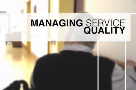 Chất lượng dịch vụ khó có thể đo lường được.