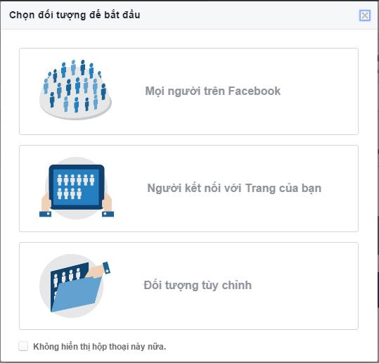 (Bạn có thể truy cập Audience Insights thông qua trình quản lý Facebook Ads)