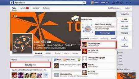 Kiếm tiền trên facebook bằng cách bán lại Fanpage.