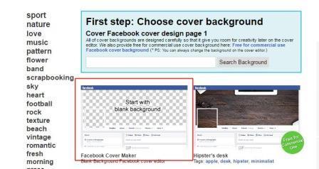 Bắt đầu tạo Cover Avatar Facebook từ nền trắng