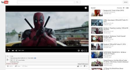 Các tùy chọn thêm cho Video Youtube