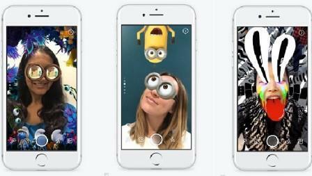 Công nghệ AR trong Facebook Messenger