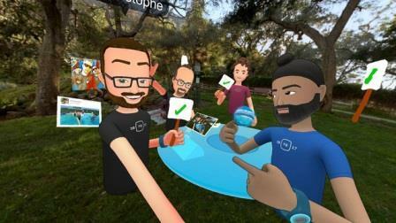 Tạo dựng thế giới thực tế ảo trên Facebook