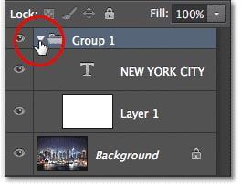 Mở rộng/ Thu gọn Group Layer