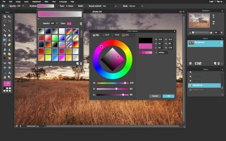 Phần mềm thay thế Photoshop Pixlr