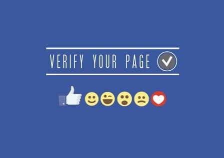 phương pháp xác minh fanpage facebook