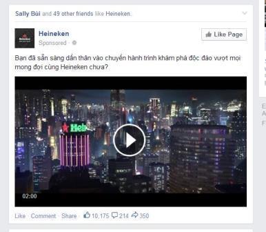 mẫu quảng cáo video