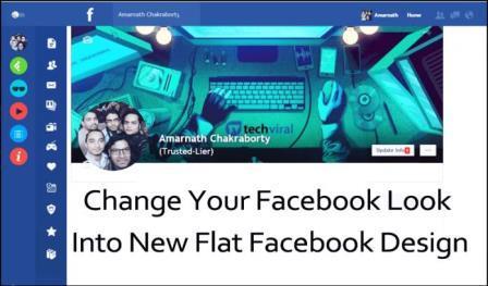 Thay đổi giao diện Facebook của bạn