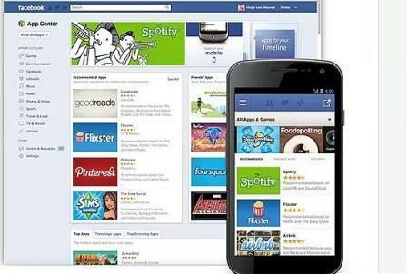 Tìm kiếm trò chơi và âm nhạc trên Facebook